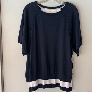 Moth Tops - Anthropologie East Falls Pullover Top Sz M